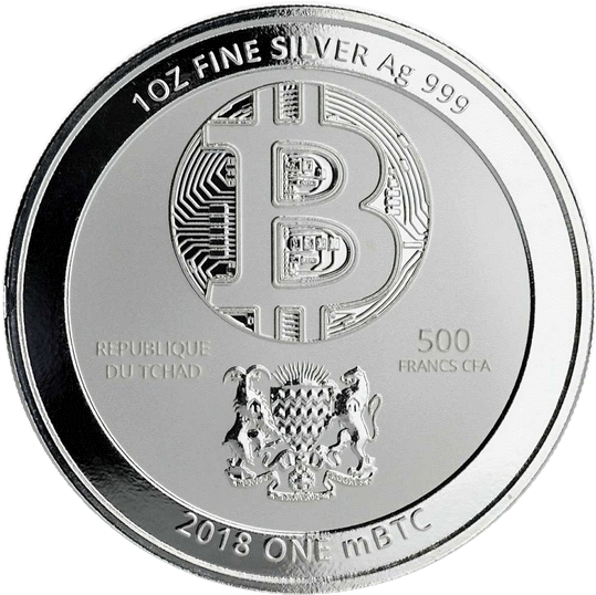 Чад золотая монета 500 франков КФА Синий Дракон, аверс