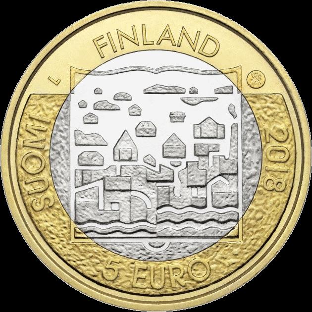 Финляндия монеты 5 евро серии Президенты Финляндии, 2018 год, аверс