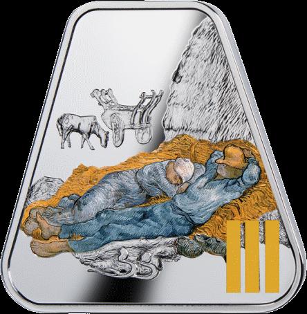 Камерун монета 500 франков КФА Декалог 3-я заповедь, реверс