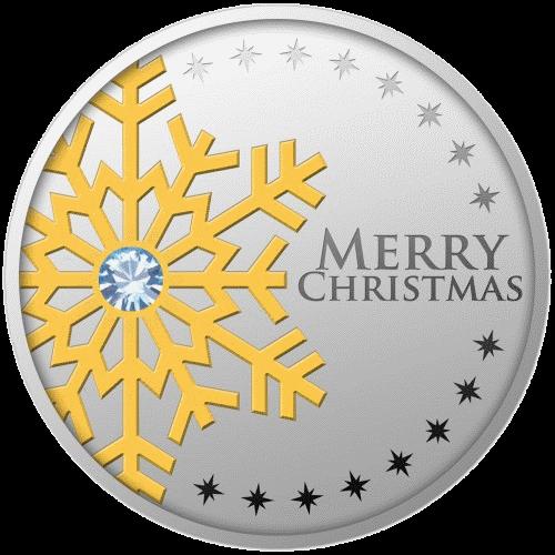 Камерун монета 500 франков КФА Первая звезда - с Рождеством, аверс