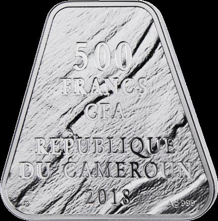 Камерун монеты серии Декалог 2018, аверс