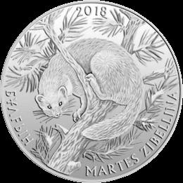 Казахстан монета 100 тенге Соболь, реверс