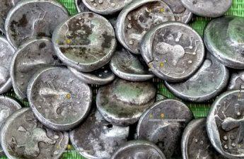 Клад серебрянных кельтских монет нашли в Словакии