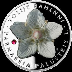 Ниуэ монета 1 доллар Белозор болотный, реверс