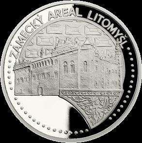 Ниуэ монета 50 долларов Сады и крепость Лимомишл, реверс