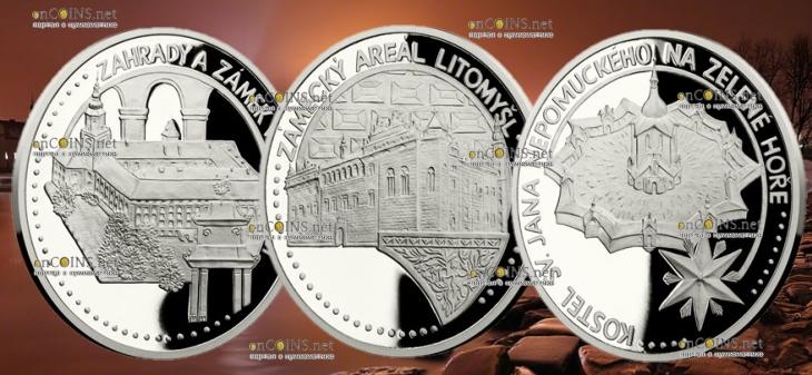 Ниуэ монеты серии Чешское наследие ЮНЕСКО 2018 год