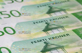 Новые банкноты Норвегии 50 крон и 500 крон вышли в обращение