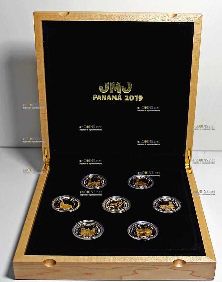 Панама серия монет Всемирный день молодежи