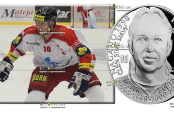 Самоа монета 2 доллара Павел Патера