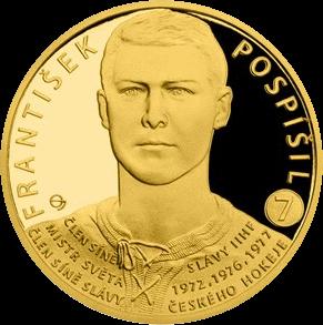 Самоа монета 25 долларов Франтишек Поспишил, реверс