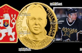 Самоа монета 25 долларов Павел Патера