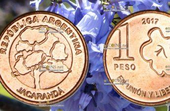 Аргентина ходовая монета 1 песо