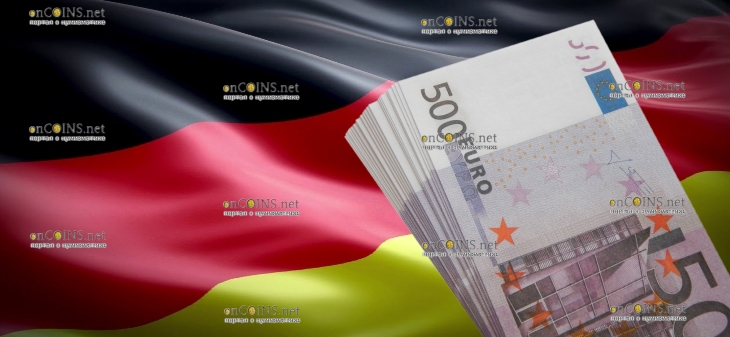 банкнота 500 евро Германия