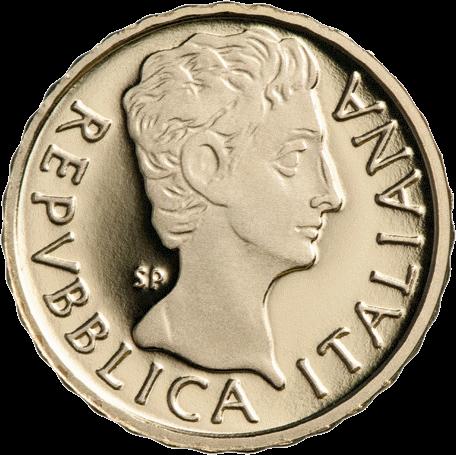 Италия монета 10 евро Октавиан Август, реверс