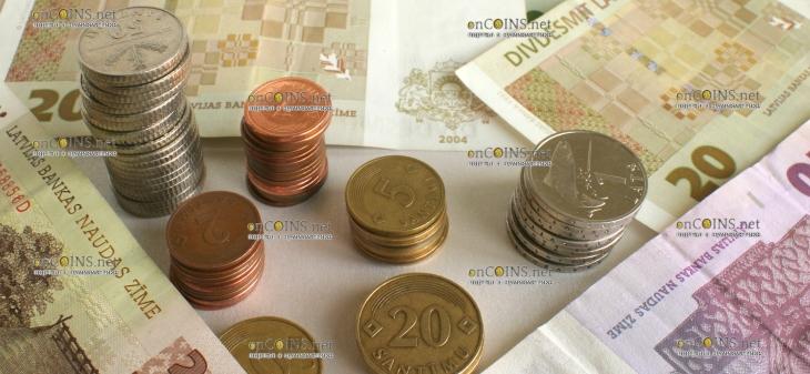 латы, латышские деньги, валюта Латвии
