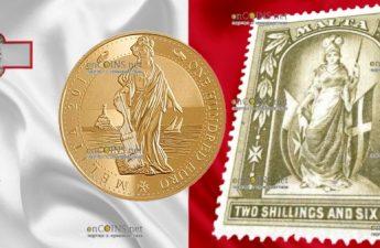 Мальта серия инвестиционных монет 100 евро Мелита, 2018 год