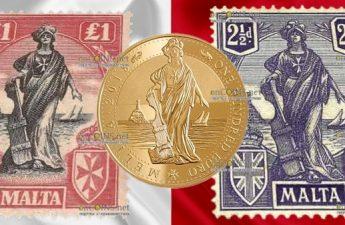 Мальта серия инвестиционных монет 50 евро Мелита, 2018 год