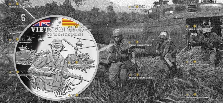 Ниуэ монета 1 доллар Поиск и зачистка