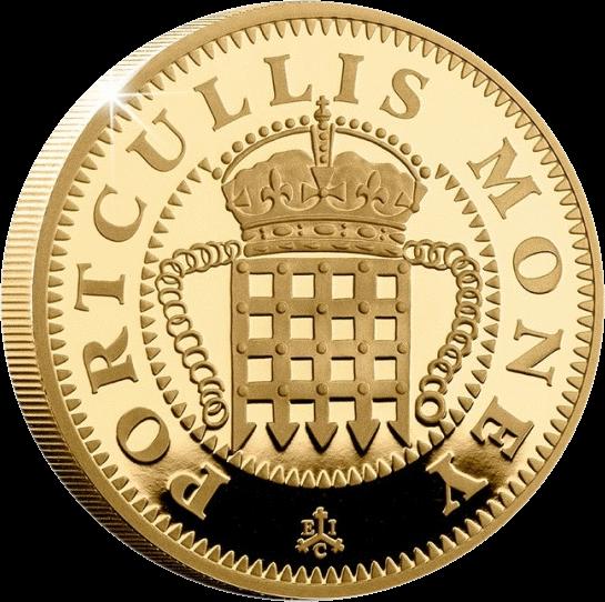Остров Святой Еелены монета 2 фунта Portcullis Money, реверс