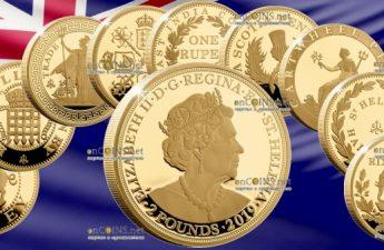 Остров Святой Елены серия монет Коллекция Империи 2018