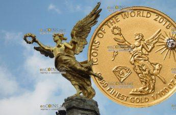 Руанда монета 10 франков Ангел Независимости, 2018