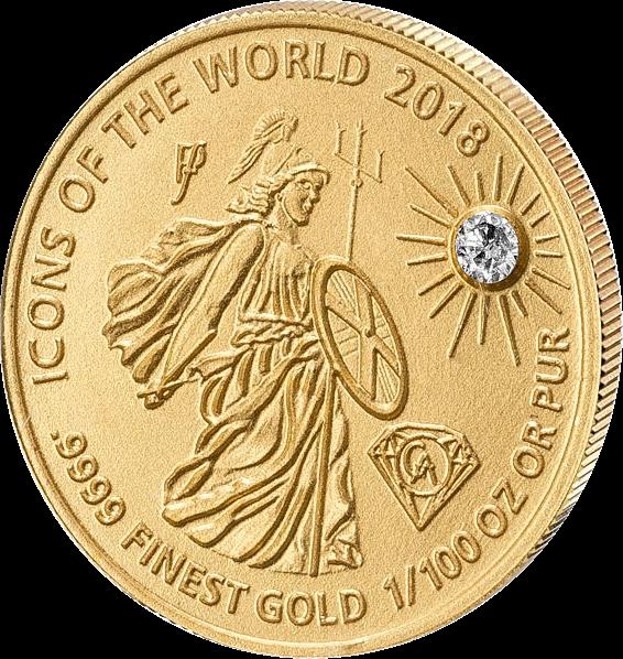 Руанда монета 10 франков Британия, 2018, реверс