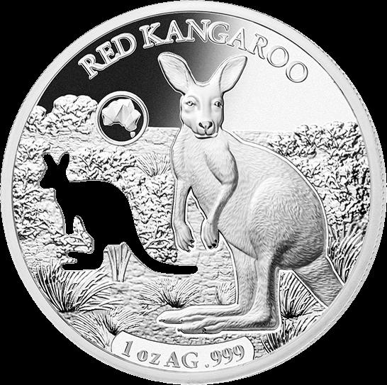 Соломоновы острова монета 5 долларов Кенгуру, реверс