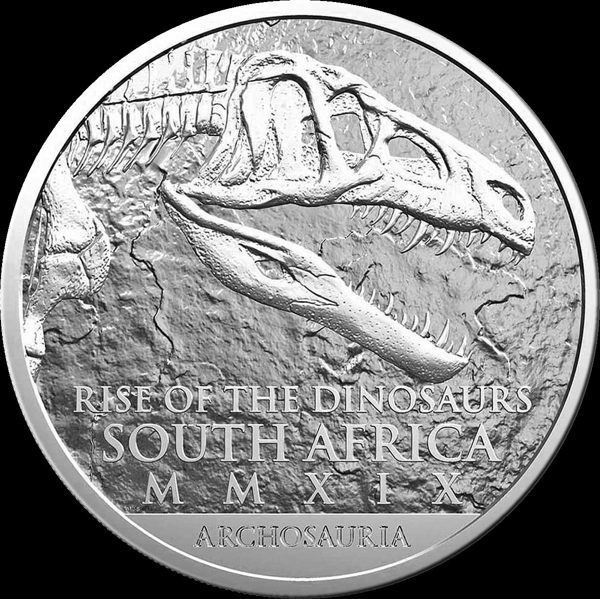 ЮАР монета 25 рандов Эупаркерия, реверс
