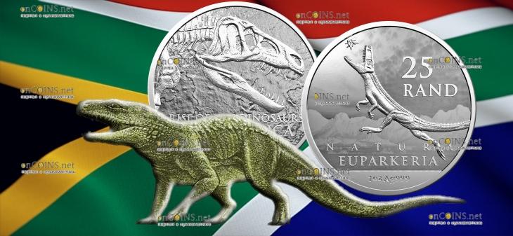 ЮАР монета 25 рандов Эупаркерия