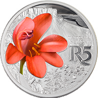 ЮАР монета 5 рандов Тритония, реверс