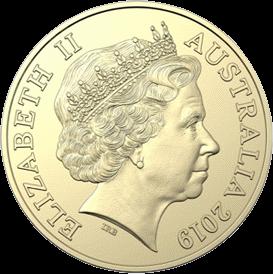 Австралия 1 доллар 2019 год, аверс