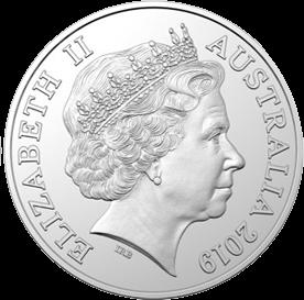 Австралия 5 центов 2019 год, аверс