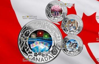 Канада монета 3 доллара серии Праздники и фестивали в Канаде 2019