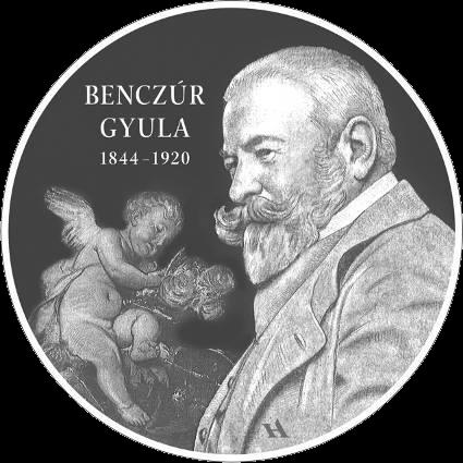 Венгрия монета 10 000 форинтов Дьюла Бенцур, реверс