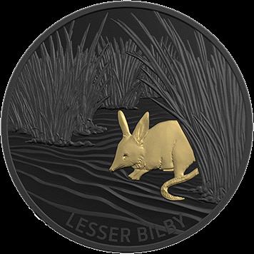 Австралия монета 5 долларов яллара, реверс