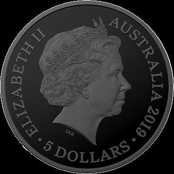 Австралия серия монет Отголоски австралийской фауны, 2019 год, аверс