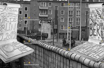 Франция 3D монета 10 евро Падения Берлинской стены
