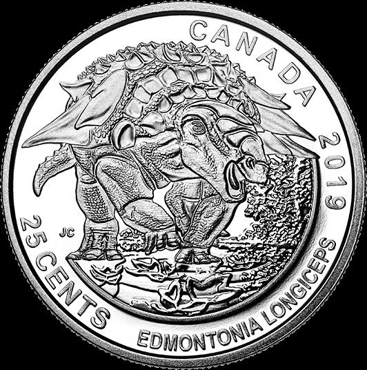 Канада монета 25 центов Эдмонтония, реверс