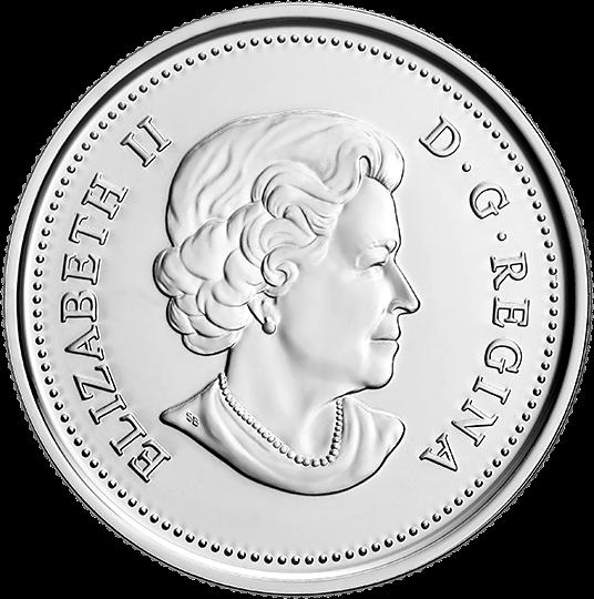 Канада монеты серии Динозавры Канады 2019 год, аверс