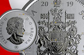 Канада циркуляционная монета 50 центов 2019 год