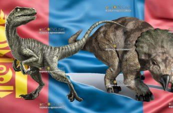 Монголия монета 2000 тугриков серии Доисторические звери