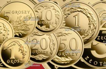 Польша серия памятных золотых монет 100-летие Злотому
