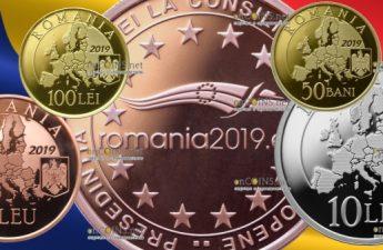 Румынии серия монет Румынское председательство в Совете ЕС 2019