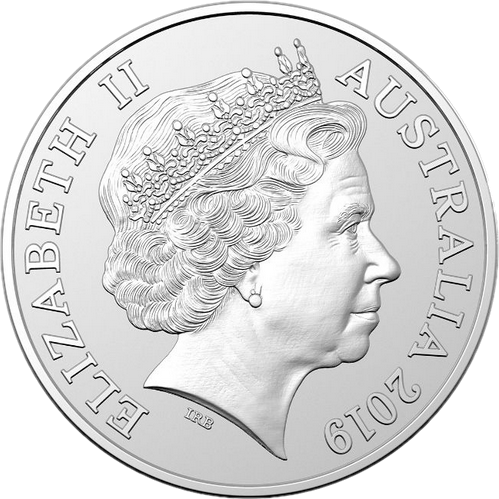 Австралия монета 1 доллар Кенгуру, аверс