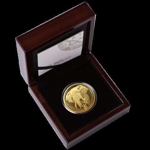 ЮАР монета 5 рэндов Слон