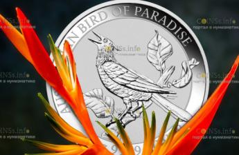 Австралия монета 1 доллар Манукодии