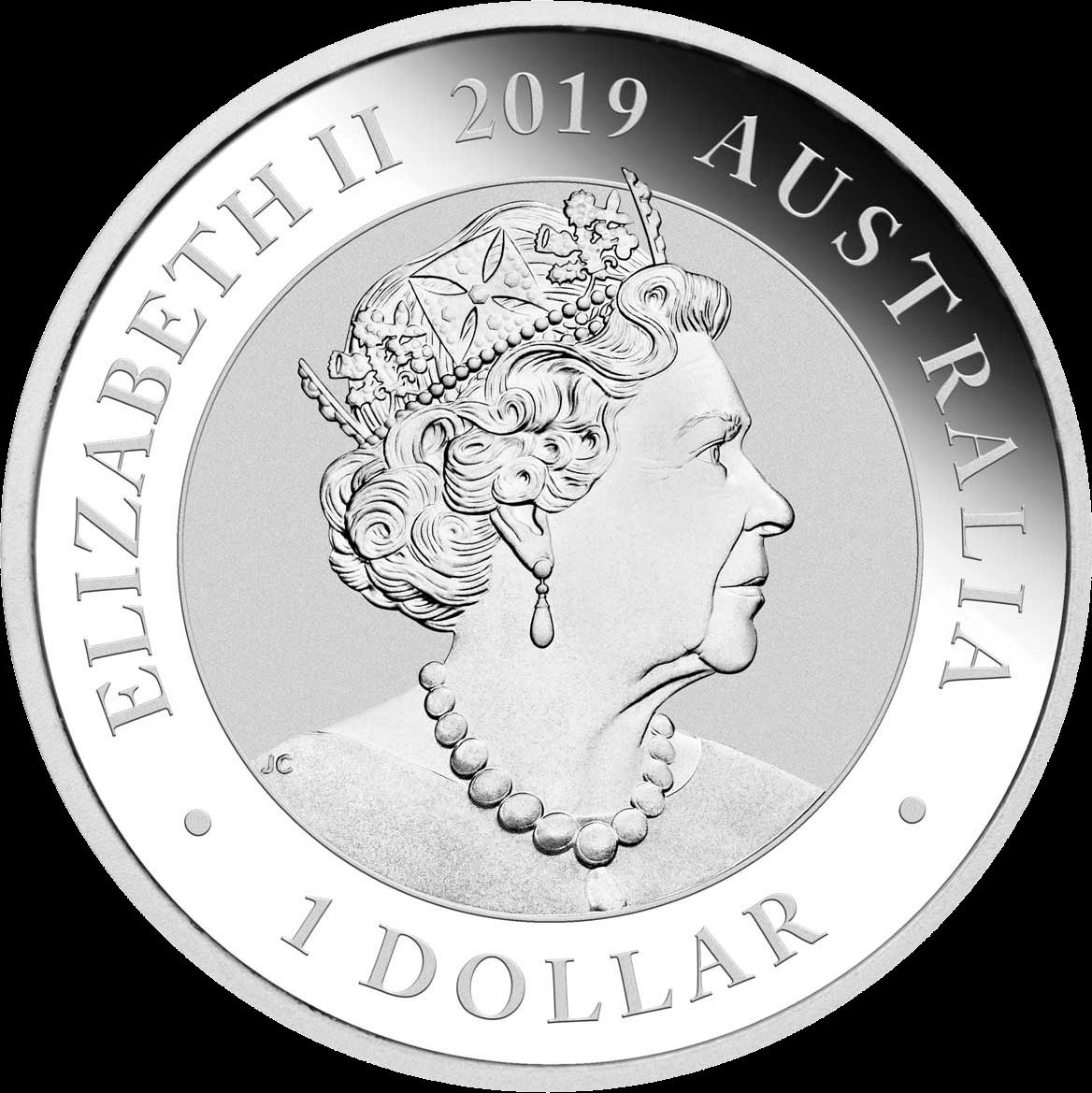 Австралия монета 1 доллар Манукодии, аверс