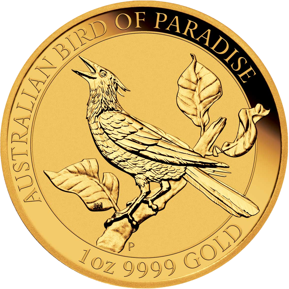 Австралия монета 100 долларов Манукодии, реверс