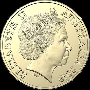 Австралия монета 2 доллара 2019 год, аверс