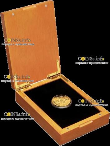 Австралия монета 200 долларов 200 лет Викторианской эпохе, подарочная упаковка
